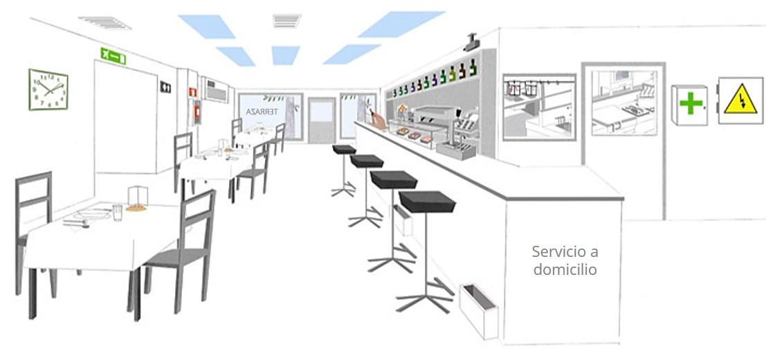 Fondo formulario Bares y restaurantes